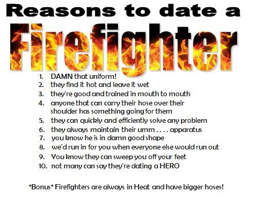 How to date a firefighter