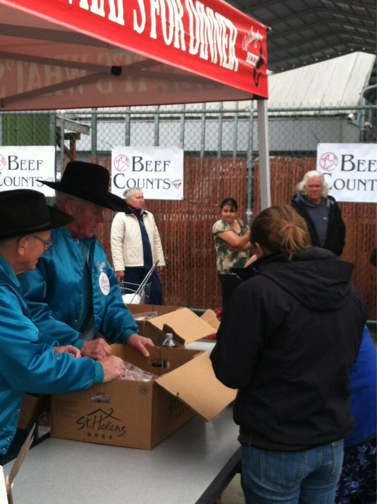 Twitter / WABeef: #Beefcounts in Bellingham today! ...