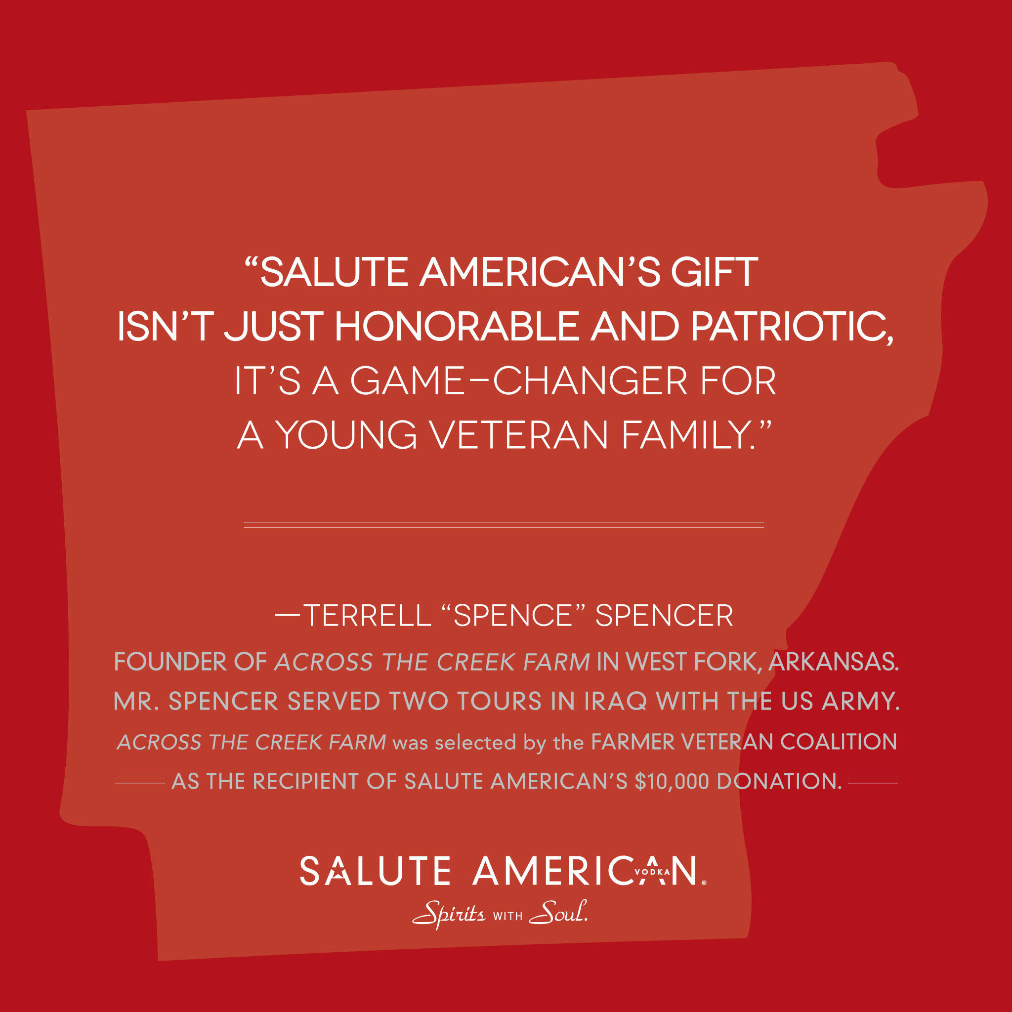 Twitter / SaluteAmerican: Salute will commit $10K to ...