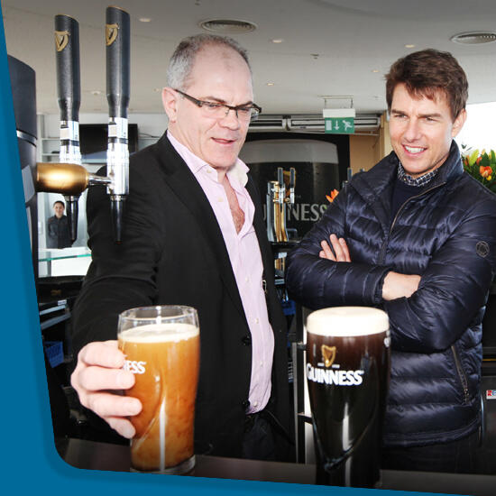 Twitter / VisitDublin: Even Tom Cruise couldnt resist ...