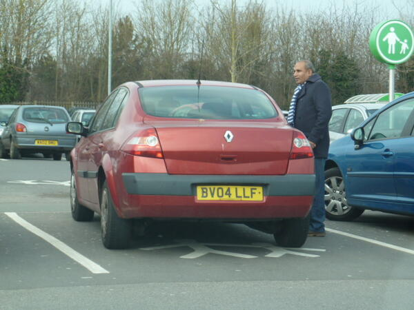 BV04 LLF is an Inconsiderate Parker
