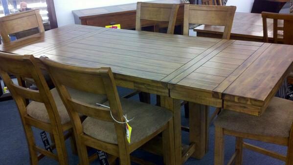 Furniture Kingdom On Twitter New Ashley Krinden Pub Set Guaranteed Lowest Price