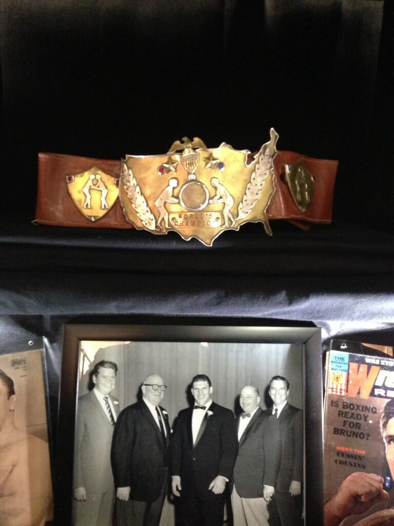 Triple H On Twitter Quot 1st Wwwf Championship Belt