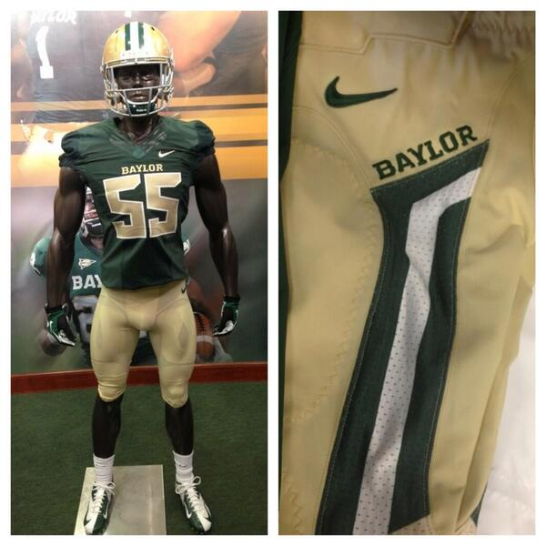 "Baylor Football on Twitter: ""Check out Baylor's new gold/green ..."