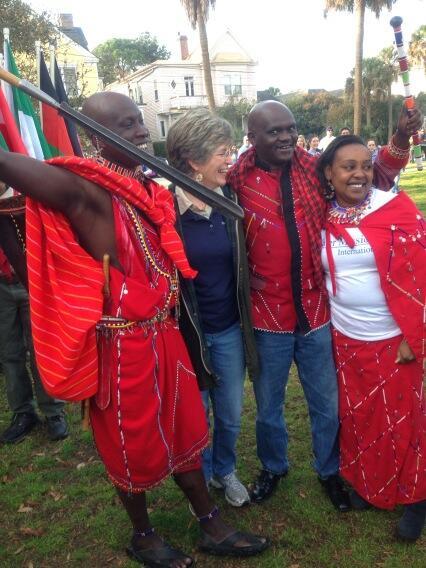 Meet our Massai friends! #wmiwalk4water http://t.co/XGB8H6Dzr3