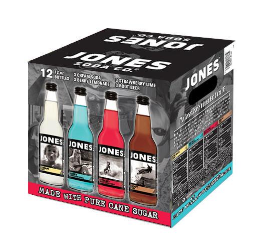 """Jones Soda Co. On Twitter: """"Jones Soda Variety Pack Now At"""