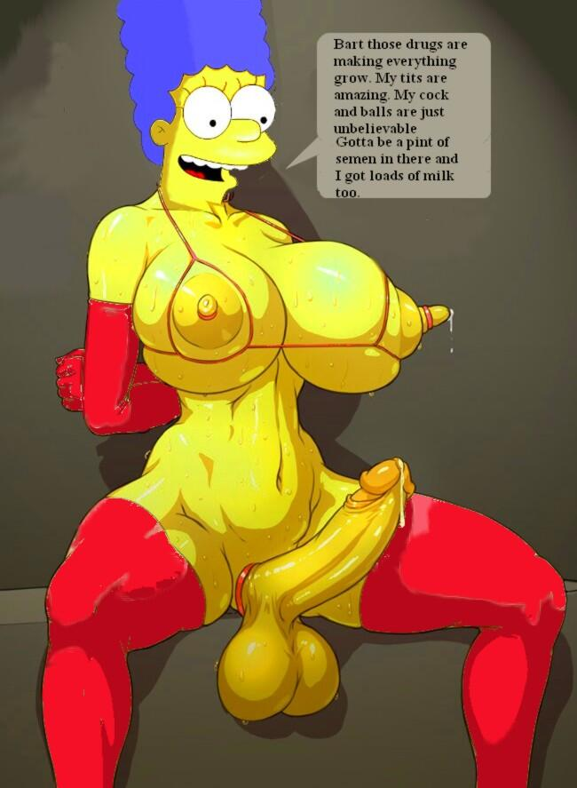 Lisa simpson futanari