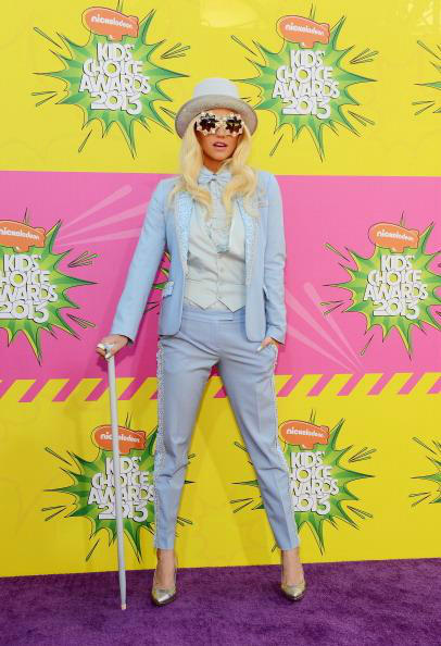Twitter / FashionistaNYC: Singer Ke$ha arrives at ...
