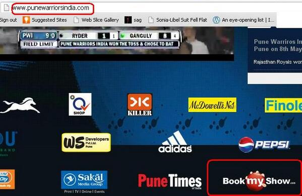 .@sardesairajdeep On prodding further, found ur ticking shop @bookmyshow is also official partner 4 Pune Warriors 5/n http://t.co/1k5JPBkWrJ