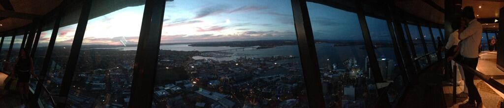 Twitter / rowsell: Auckland you are spunky. ...