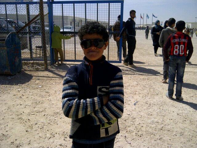 Twitter / ToulaVlahouCBS: Abdullah,11,at Jordan's #Zaatari ...