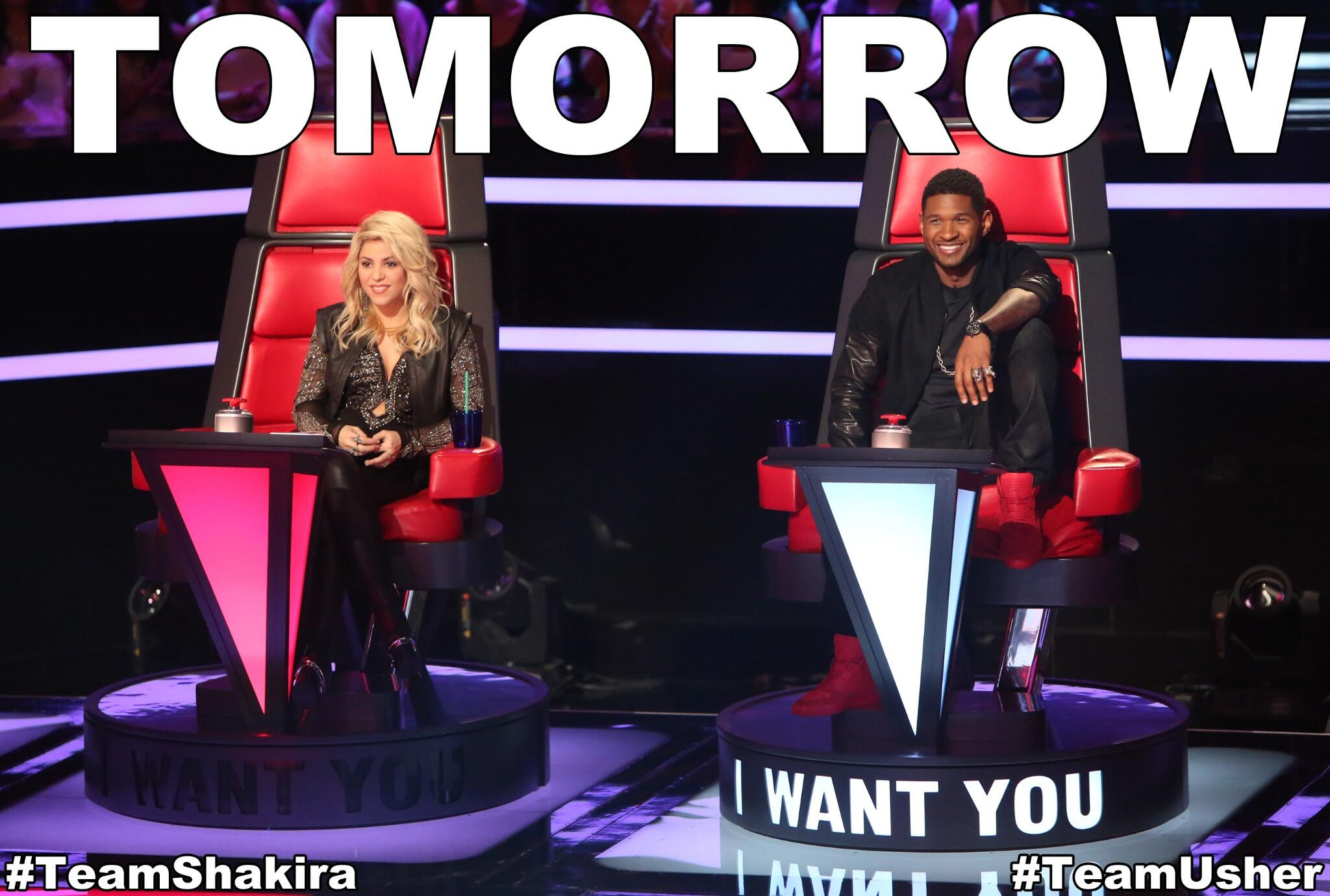 Twitter / NBCTheVoice: Retweet to welcome @Shakira ...