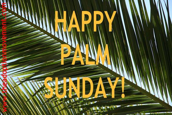 ArmyoftheFaceofJesus On Twitter Happy Palm Sunday Tco FnZXZhkxtG