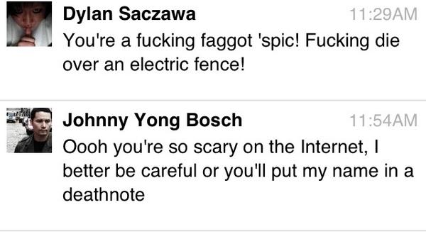 johnny yong bosch facebook