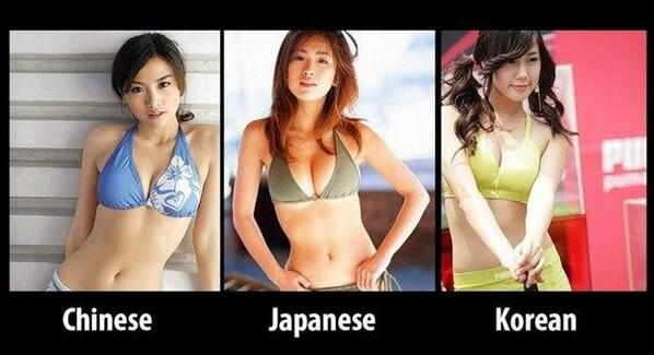 what difference between south korean girls japanese
