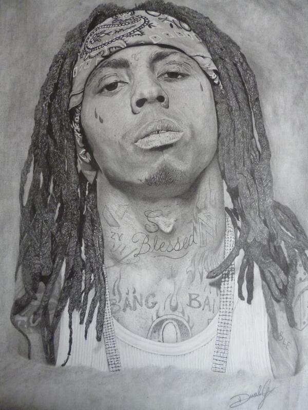 "Lil Wayne Drawing ""lil wayne's drawing,"