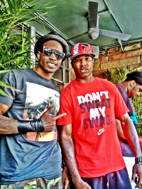 Twitter / ochocinco: Found my lil cousin @IMcCartney5 ...