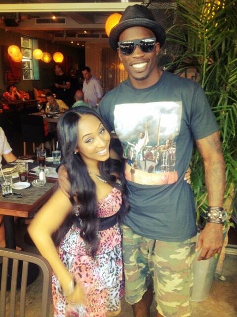 Twitter / ochocinco: PePe and @wankaego on a previous ...