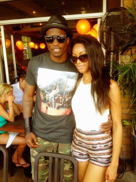 Twitter / ochocinco: PePe and @Six2nHeels on a 2 ...