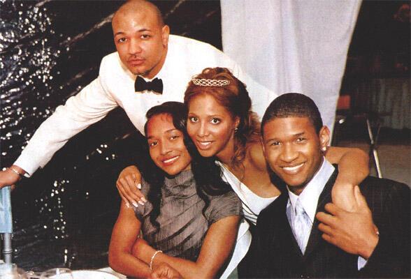 Toni Braxton Wedding.Toni Braxton On Twitter Calvindereuck Chilli And Usher