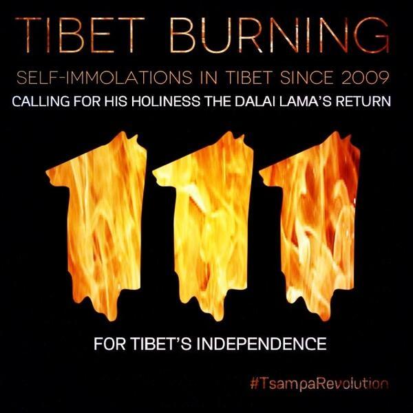 西藏自焚110