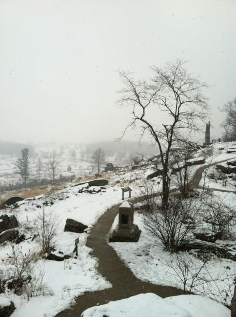 Twitter / AmyStansbury: A snowy afternoon on Little ...