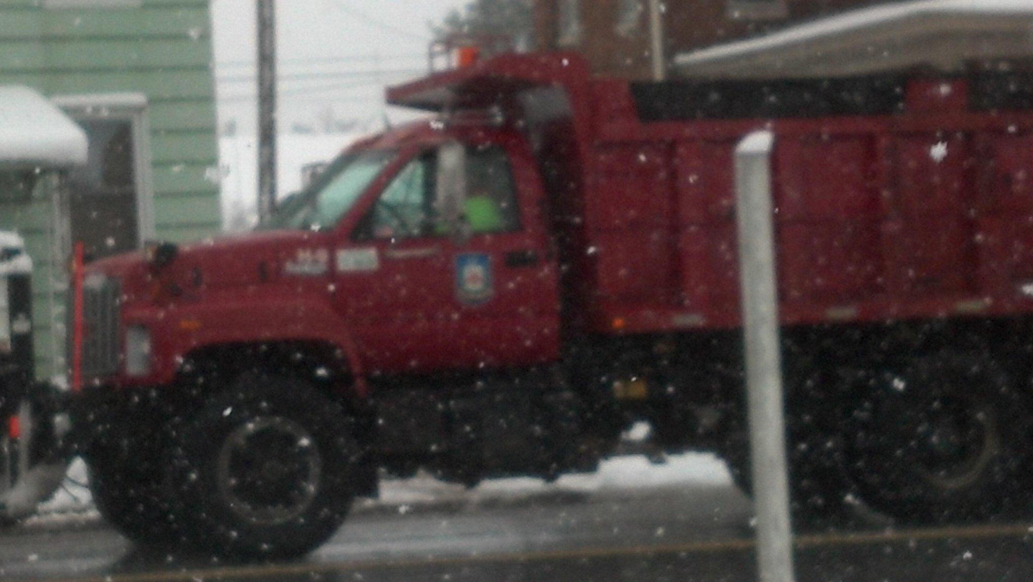Twitter / ydrcom: Snow plow in Dallastown. ...