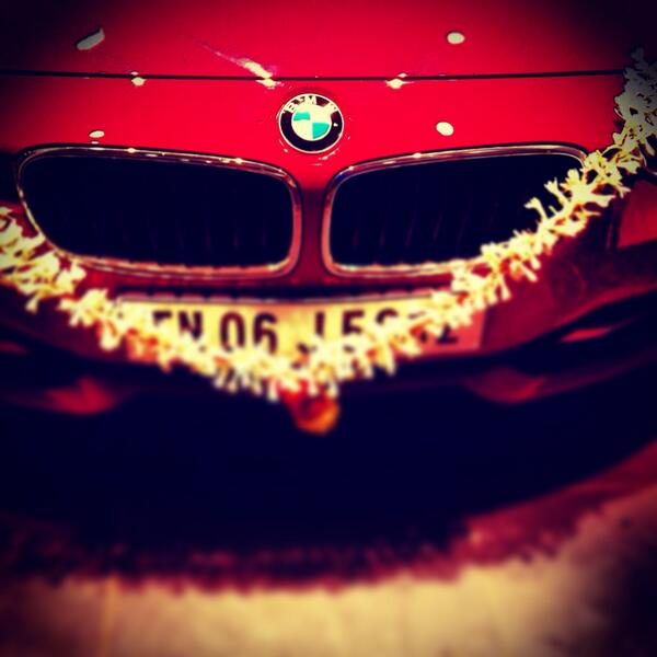 "Anirudh Ravichander On Twitter: ""My New Car :) Http://t.co"
