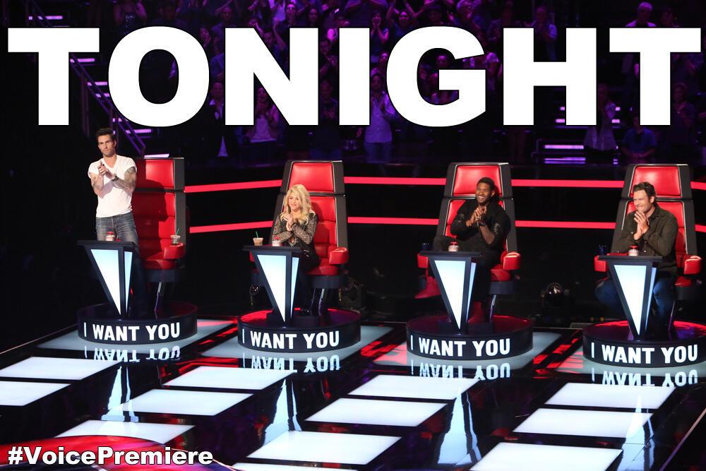 Twitter / NBCTheVoice: Tonight! Season 4 premieres ...