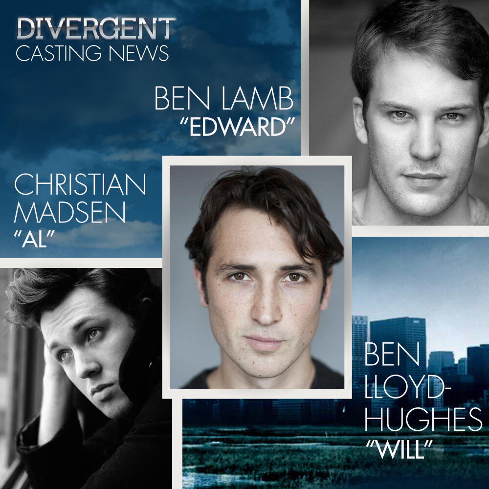 Ben Lloyd-Hughes, Ben Lamb, and Christian Madsen Join # ...