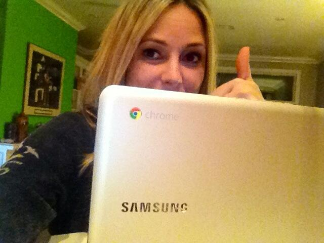 Twitter / ambermac: Loving my Chromebook, perfect ...