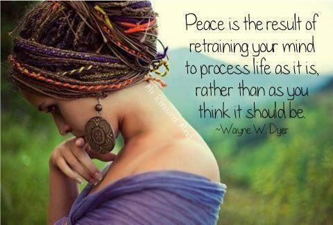 Twitter / JoyAndLife: Peace, is the result of ...
