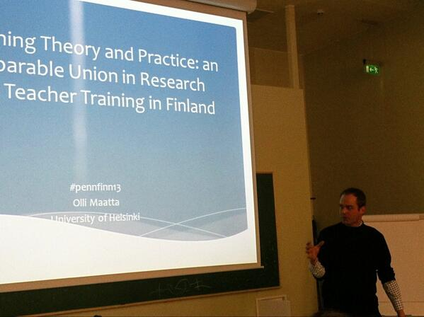 Overview of common pedagogical approaches & beliefs in Finnish schools provided by @maattaolli #pennfinn13 http://t.co/KEGfO9cul8