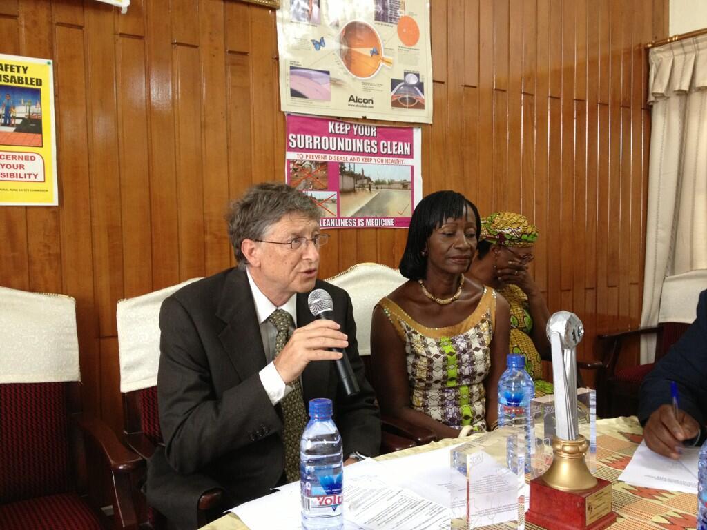 Twitter / GAVISeth: Mtg with @BillGates & Ghana ...