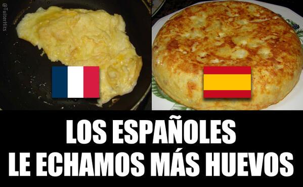 Twitter / TuiterHits: Esta noche Francia-España ...