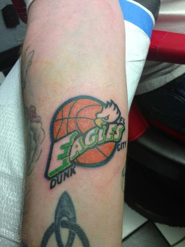 Fan's tattoo pays perfect homage to Florida Gulf Coast