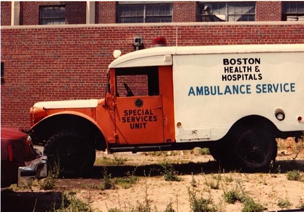 Boston EMS Paramedic Supervisor. Ambulance Photos