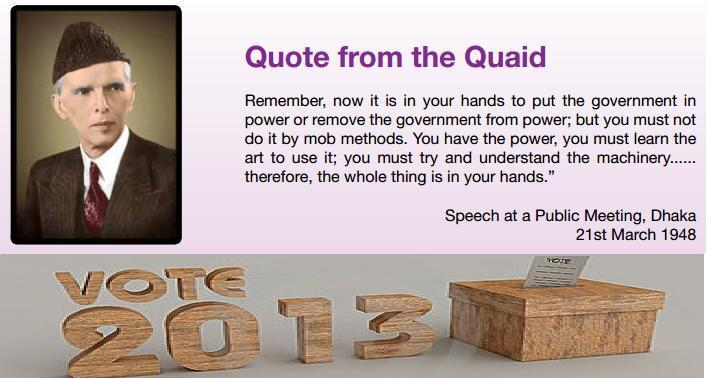 quotations of quaid e azam Home quaid e azam birthday quotes genius implies originality and independence — claudia gray i believe that the good lord gave us a finite number of heartbeats and i'm damned if i'm going to use up mine running up and down a street — neil.