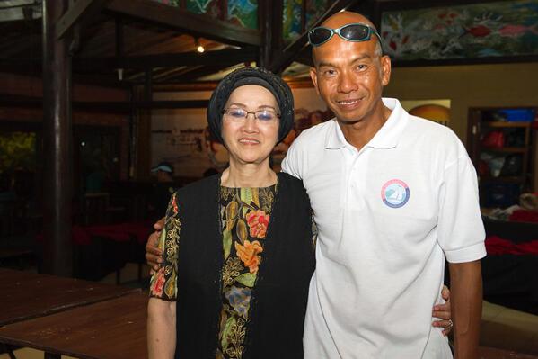 Pria Indonesia Pertama yang Berlayar Seorang Diri dari Amerika ke Bali