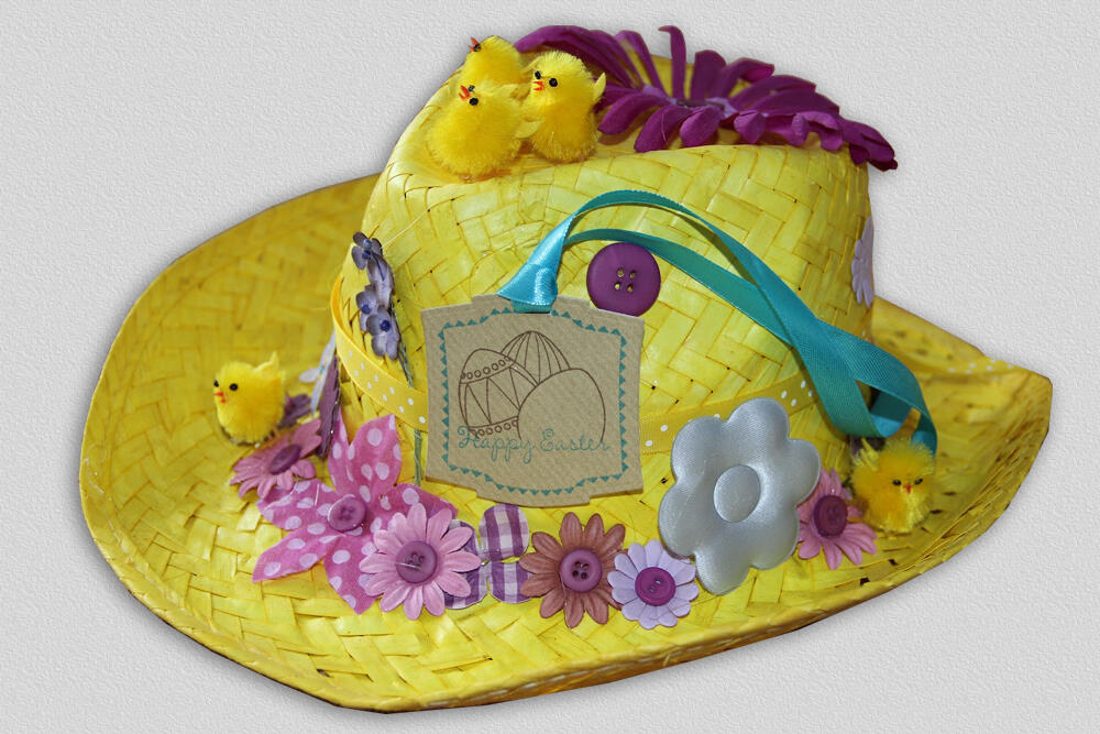 Twitter / sharonleeltd: Happy Easter all, this hat ...