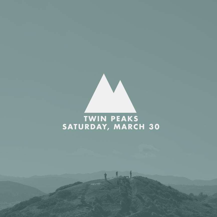 Twitter / StartupHike: Twin Peaks, this Saturday. ...