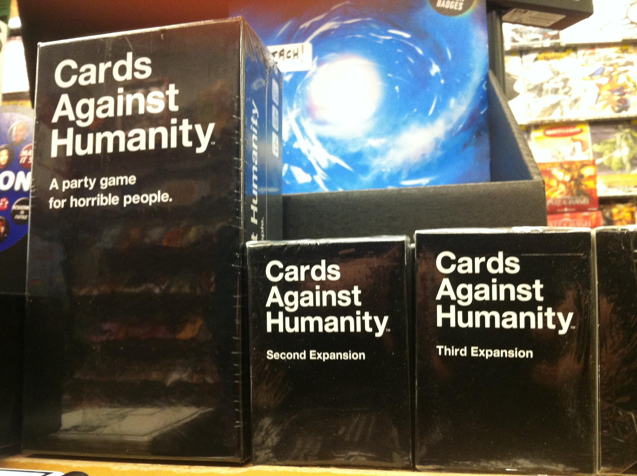 Twitter / JetpackComics: CARDS AGAINST HUMANITY BACK ...