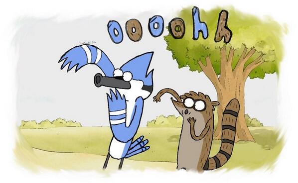 Mordecai And Rigby On Twitter I Shall Follow U If U Follow