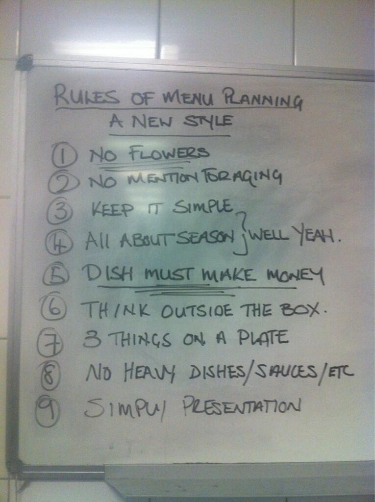Twitter / tweet2eatHB: The 9 rules of restaurant menu ...