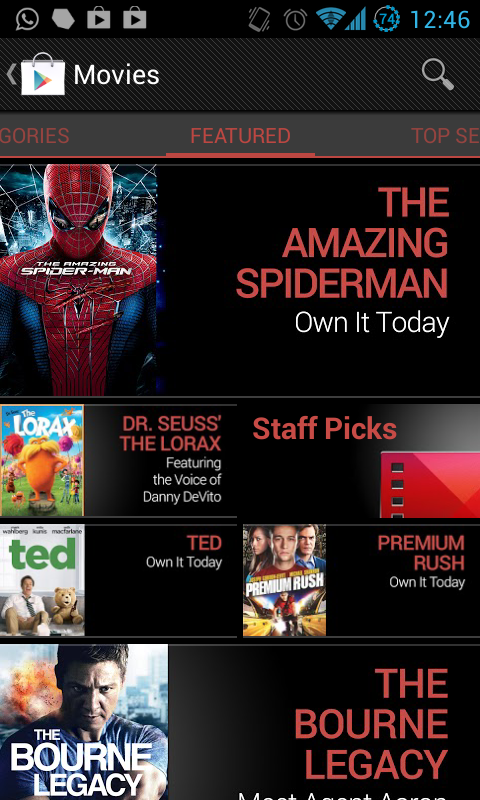 Twitter / Yashvir: Google Play Movies now available ...