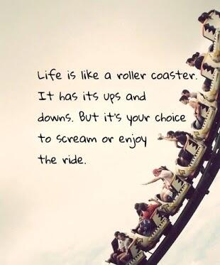 Shok On Twitter Life Is Like A Roller Coaster See Image While