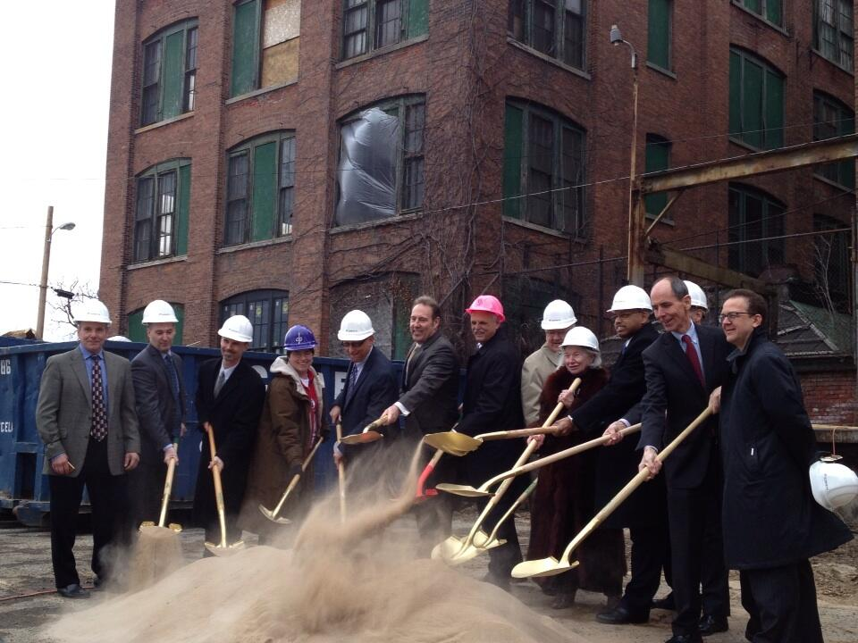 Twitter / CityRochesterNY: And with shovels in the dirt ...