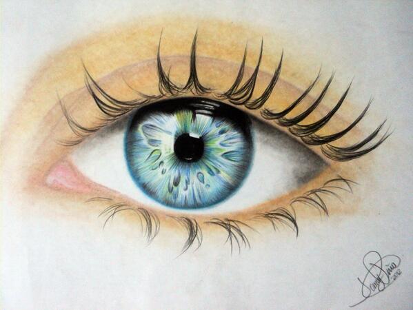 Ojos Dibujo A Color Imagui