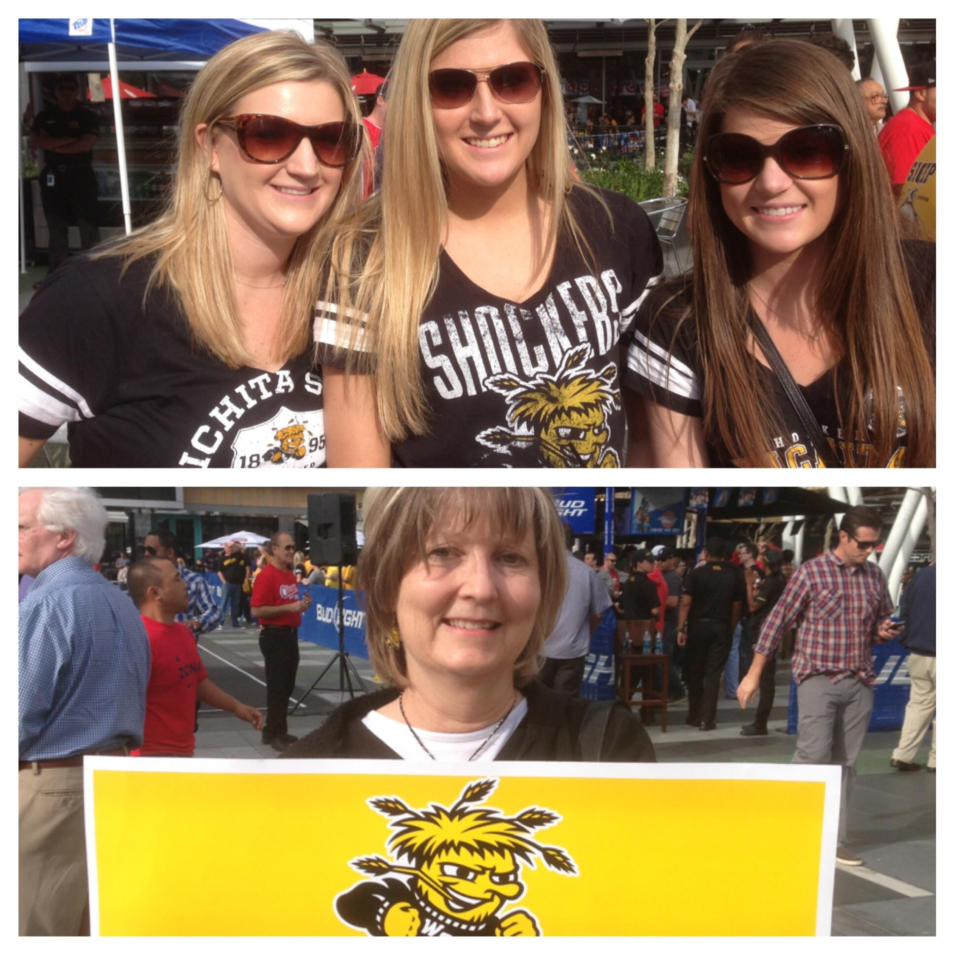 Twitter / deniseneil: Shockers fans collage No. 3 ...