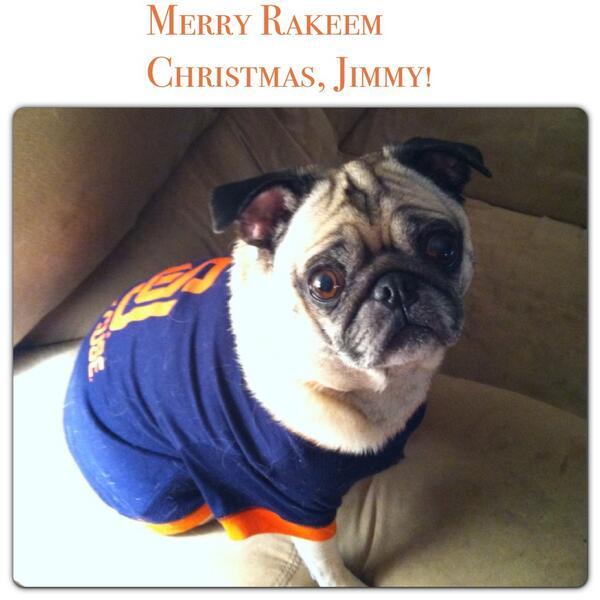 Merry Rakeem Christmas @JimmyFallon #SUtoJimmy http://t.co/Tcjvk4o9vS http://t.co/7NRfz0hjqT